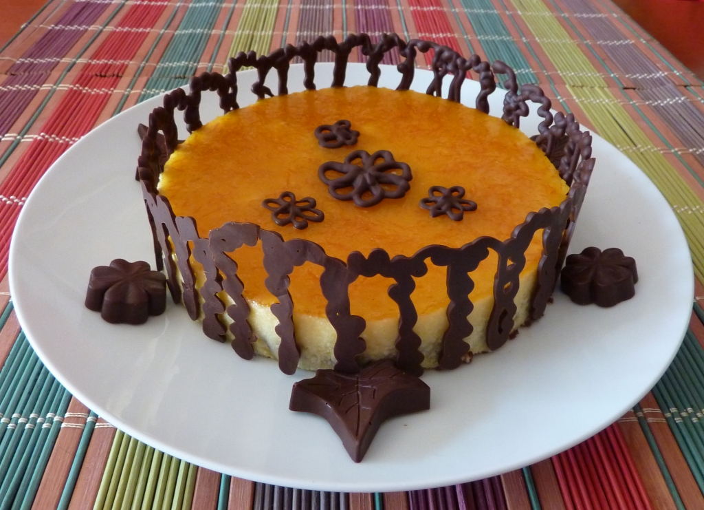 Tarta Mousse De Naranja Y Chocolate